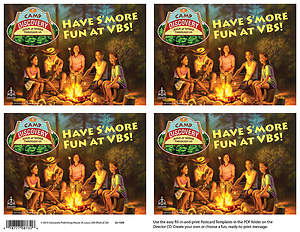 Concordia VBS 2015 Camp Discovery Publicity Postcards (Pack of 24)
