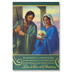 Love is Born at Christmas Boxed Cards - Box of 20