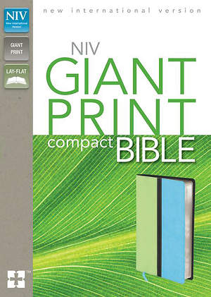 New International Version Compact Bible, Giant Print