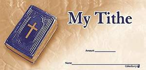 My Tithe Offering Envelope (Package of 100)