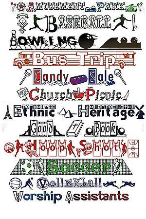 Church Fonts Series
