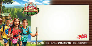 Concordia VBS 2015 Camp Discovery Indoor/Outdoor Banner