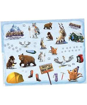 Group Easy VBS 2015 Everest Theme Sticker Sheets  (Pkg. of 10 sheets)