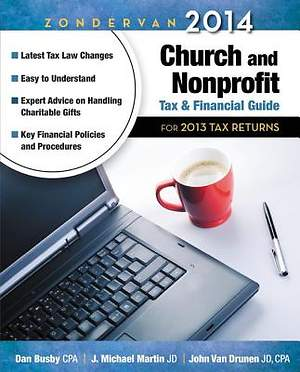 Zondervan 2014 Church and Nonprofit Tax and Financial Guide