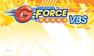 Vacation Bible School (VBS) 2015 G-Force Outdoor Banner