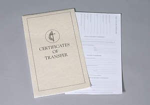 Certificates of Transfer United Methodist (Booklet of 32)