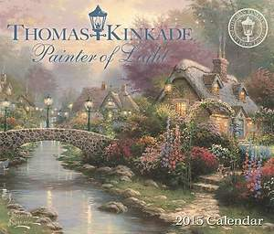 Thomas Kinkade Painter of Light 2015 Day-To-Day Calendar