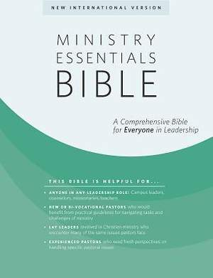 Ministry Essentials Bible-NIV
