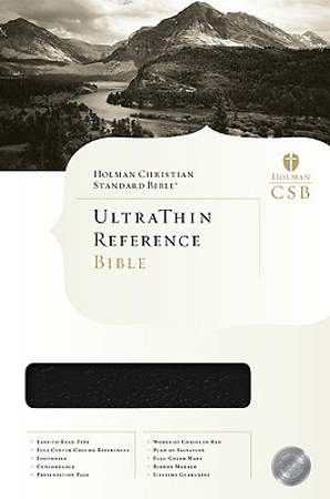 Ultrathin Reference Bible - HCSB