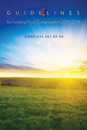 Guidelines for Leading Your Congregation 2013-2016 (Set of 26) - eBook [ePub]