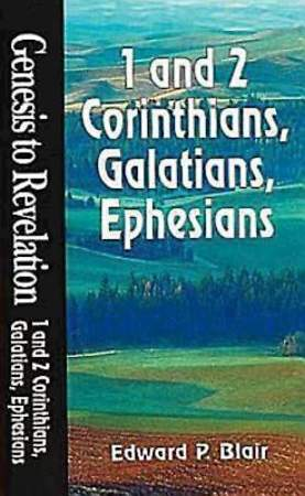 Genesis to Revelation: 1 and 2 Corinthians, Galatians, Ephesians Student Book
