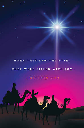 When They Saw A Star Epiphany Bulletin 2015, Regular (Package of 50)