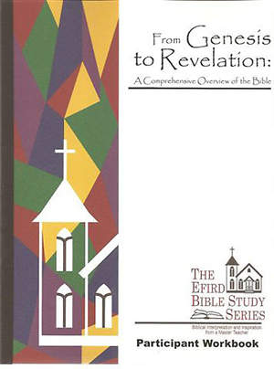 Efird Bible Study Series-  From Genesis to Revelation: A Comprehensive Overview of the Bible Workbook