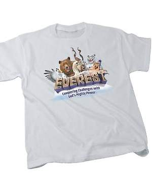 Group Easy VBS 2015 Everest Theme T-Shirt.Child.SM 6-8