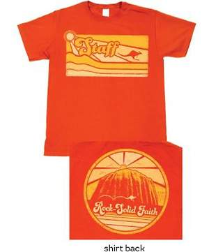 Group VBS 2015 Outback Rock Staff T-Shirt (MED 38-40)