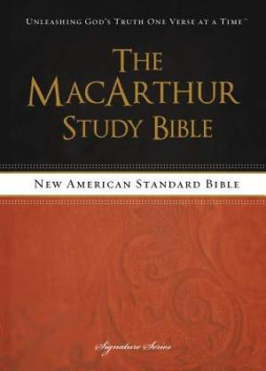 The MacArthur Study Bible, NASB