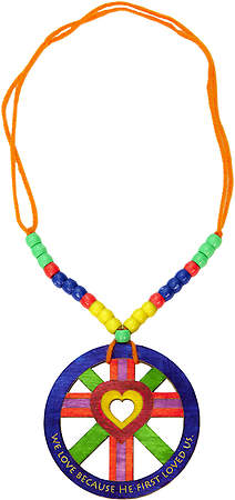 Concordia VBS 2015 Camp Discovery His Love - Medallion  Craft (Pack of 12)