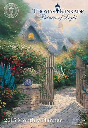 Thomas Kinkade Painter of Light 2015 Monthly Pocket Planner Calendar