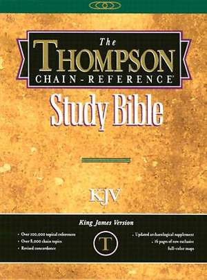 Bible KJV Thompson Chain Reference Handy Size
