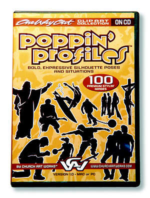 Poppin' Profiles Clip Art Collection CDROM