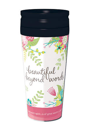 Beautiful Beyond Words - Travel Mug