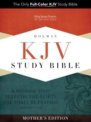 KJV Study Bible, Turquoise Mother's Edition Leathertouch