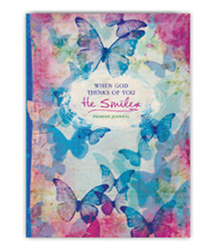 When God Thinks of You, He Smiles Promise Journal