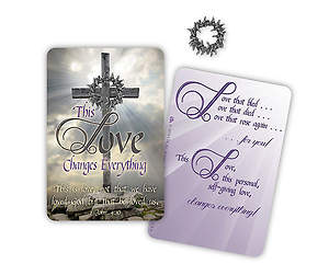 This Love Changes Everything - Lapel Pin (Pack of 3)