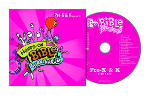 Hands-On Bible Curriculum Pre-K & K CD Spring 2015