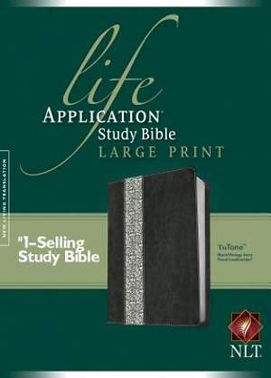 Life Application Study Bible New Living Translation, Large Print Tutone
