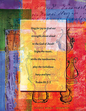 Choir Posters Sing for Joy to God