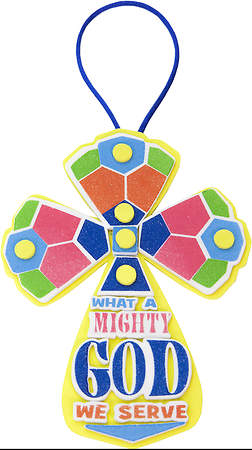 Concordia VBS 2015 Camp Discovery What A Mighty God  Cross Craft (Pack of 12)