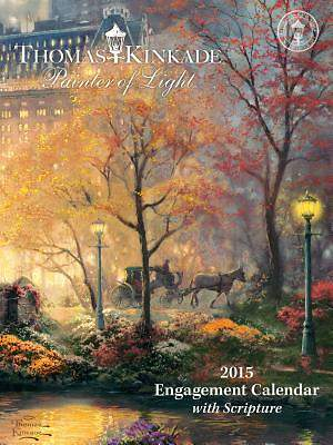 Thomas Kinkade Painter of Light with Scripture 2015 Engagement Calendar