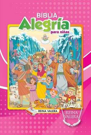 Reina Valera Children's Joy Bible - Girl's