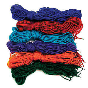 Concordia VBS 2015 Camp Discovery Tipped Yarn Laces