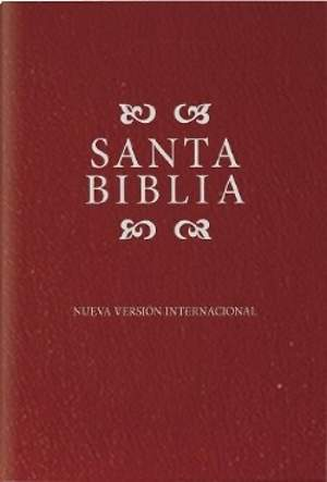 NVI Spanish Compact Bible - Burgundy