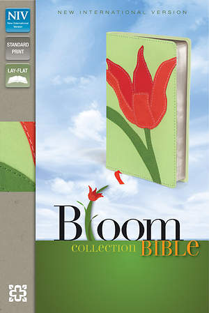 New International Version Thinline Bloom Collection Bible Tulip