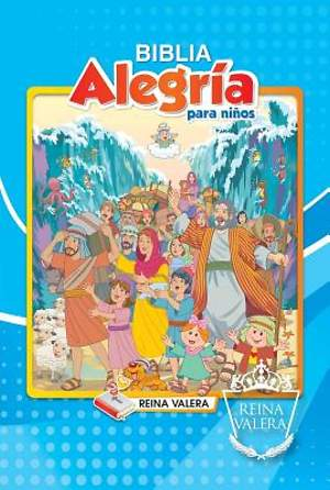 Reina Valera Children's Joy Bible - Boy's