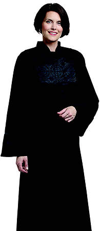 Abigail Women`s Qwick-ship Clergy Robe