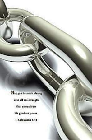 Chain Scripture Series Bulletin, Regular (Package of 50)