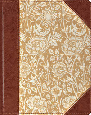 ESV Single Column Journaling Bible (Antique Floral Design)