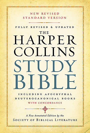 HarperCollins Study New Revised Standard Version Bible