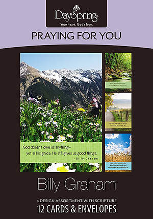 Billy Graham - Praying for You Boxed Cards - Box of 12