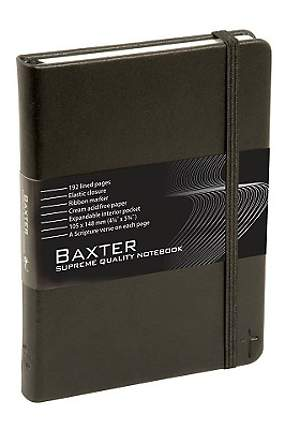 Black Baxter Notebook