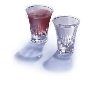 "Glass Communion Cups 1 1/2"" Deep (Box of 20)"