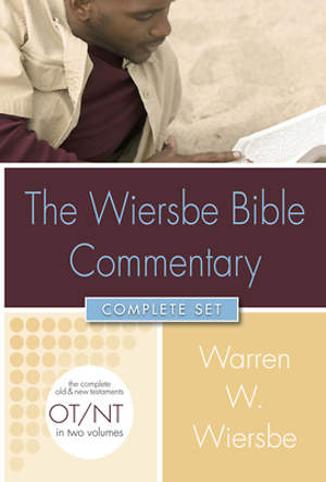 The Wiersbe Bible Commentary Complete Set with CDROM