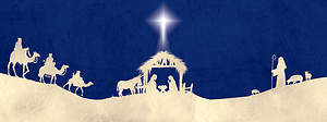 Journey to Bethlehem Altar Frontal