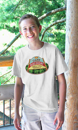 Concordia VBS 2015 Camp Discovery T Shirt Iron Ons (Pack of 10)
