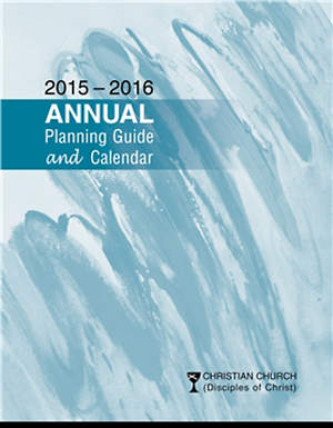 Annual Planning Guide & Calendar 2015-2016