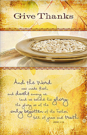 Communion Bulletin Pack of 100